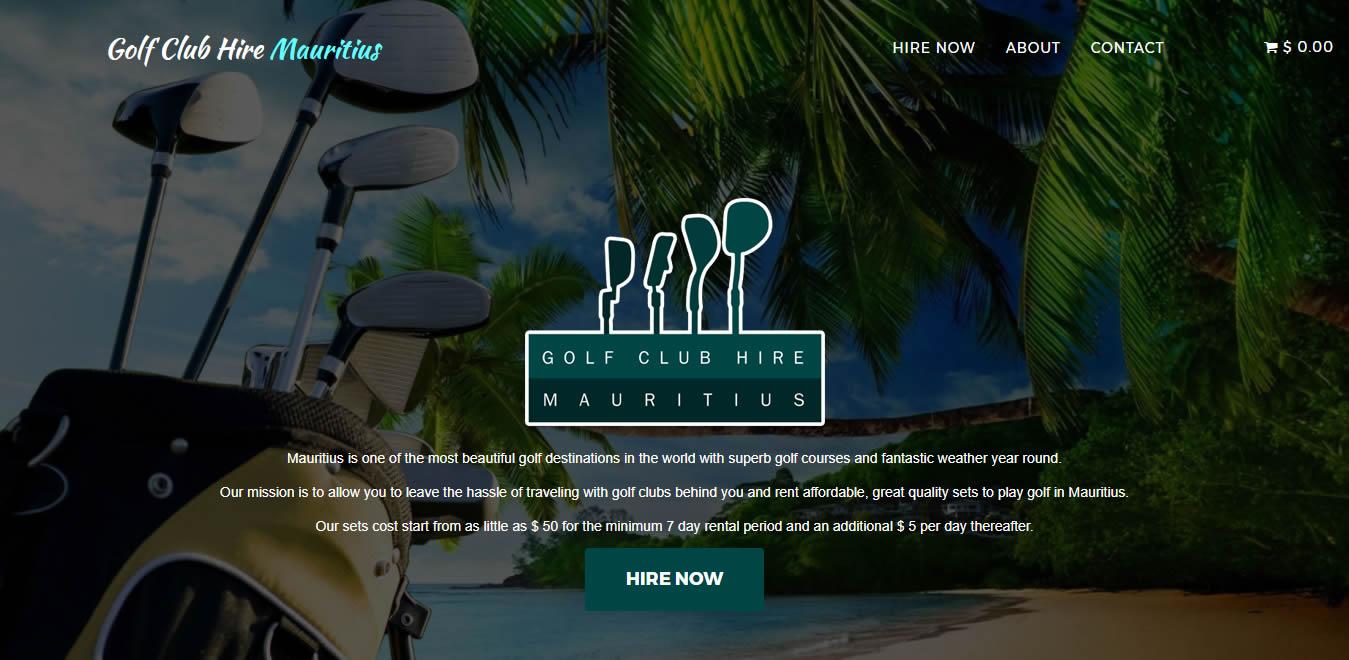 Mauritius Golf Club Hire